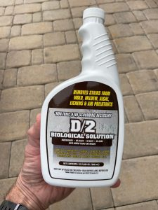 outdoor stone and concrete stain remover