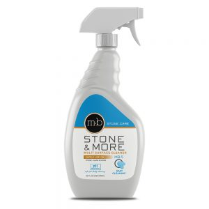 natural stone countertop recommended cleaner