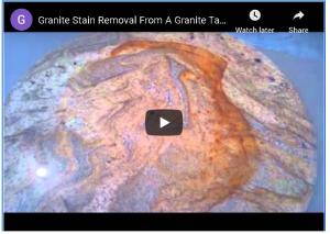 granite care videos