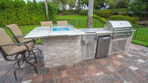 outdoor kitchen care