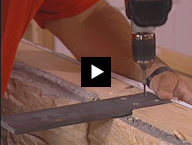 Installing Hidden Countertop Brackets