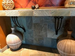 custom granite supports